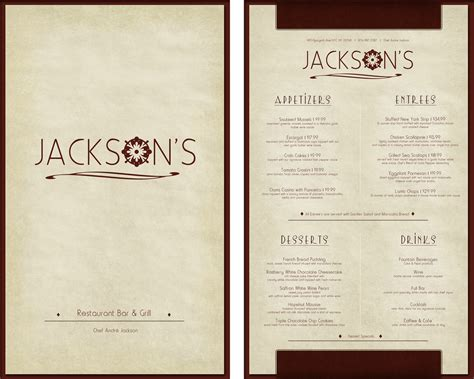 Floor And Decor Austin Texas High End Restaurant Menu Design