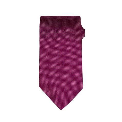 plum firenze silk tie tailor on ten