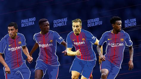 barcelona transfer 2017 bursa transfer musim panas 2017 fc barcelona fc barcelona