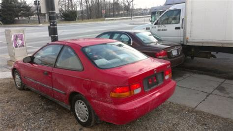 1996 Honda Civic Coupe For Sale By Owner In Md Under 3000