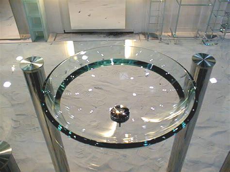 waschbecken aus glas beckenschalen aus glas in ma 223 anfertigung