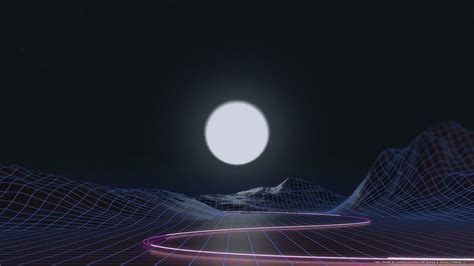 synthwave hd wallpapers