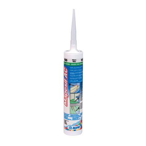mapei mapesil ac silicone sealant tiling supplies direct