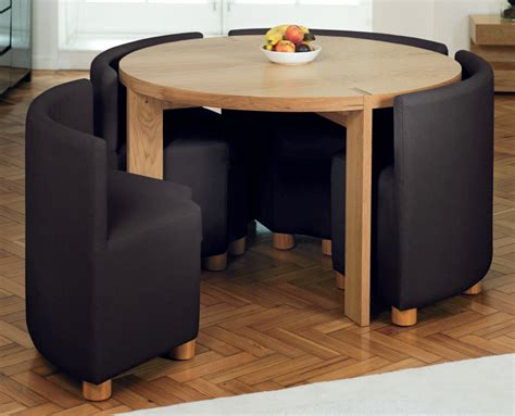 Dwell Dining Table And Chairs Dwell Rotunda Dining Table With Chairs Oak Home Pinterest Tables Space Saving And Small
