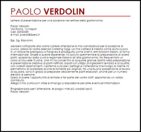 ufficio commerciale in inglese esempio lettera di presentazione posizione nel settore