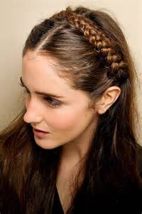 braided band easy hairstyles styles for hair houseandgarden co uk
