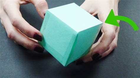 Make A Paper Cube - 3 ways to make a paper cube wikihow