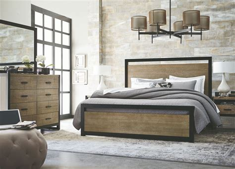 stone bedroom furniture helix charcoal stone panel bedroom set 4660 4105k