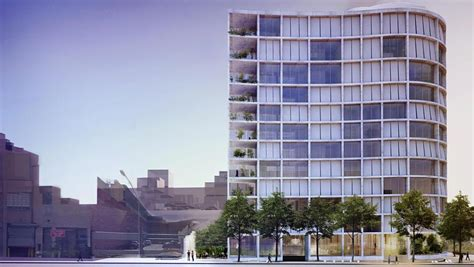 herzog amp de meuron s undulating condo design for the
