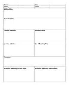 7 step lesson plan template blank 8 step lesson plan template by kristopherc