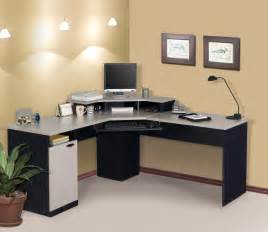 Pc Desk Design by Bestar Hampton Corner Computer Desk