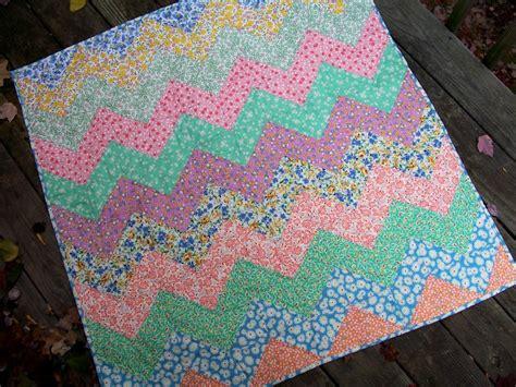 free pattern zig zag quilt grandma s zig zag by elena mcdowell quilting pattern