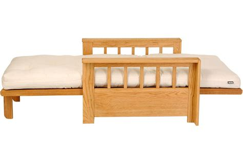 solid oak futon vienna single solid oak sofa bed