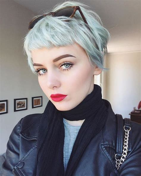 super short with bangs bob alternative hairstyles best 25 short pastel hair ideas on pinterest pastel pink hair pale pink hair and lily