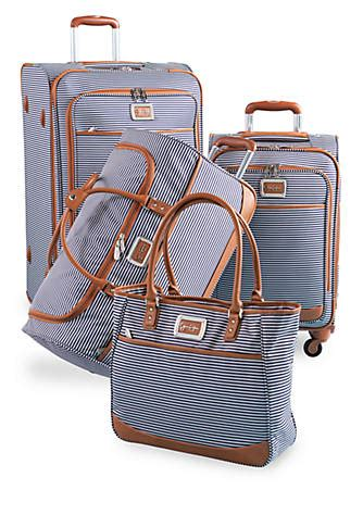 jessica simpson breton spinner luggage collection navy