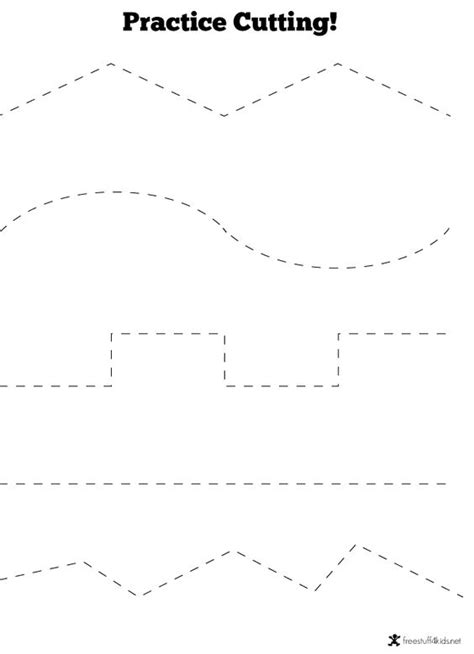 free printable cutting worksheets for preschool scissors cutting practice writing scissor skills