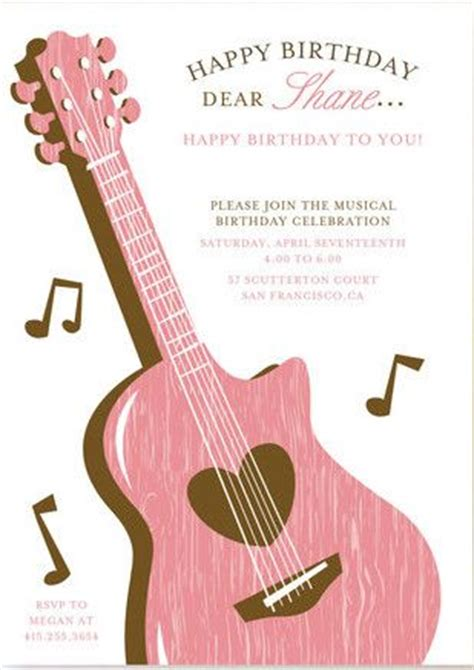 music themed birthday quotes 17 best images about music theme party on pinterest