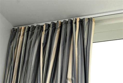 Ceiling Curtain Rods Ideas Ceiling Mounted Curtain Rod Savitatruth