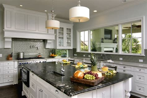 Titanium Granite White Cabinets Backsplash Ideas Backsplash Ideas With White Cabinets
