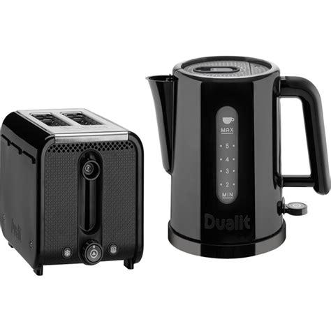 dualit kitchen appliances dualit studio 1 5l kettle and 2 slice toaster bundle