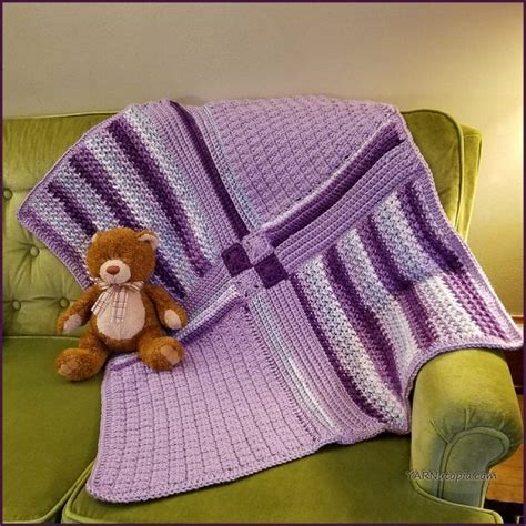 Patchwork Blanket Pattern - 15 most popular free crochet baby blanket patterns