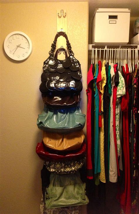 how to organize bags in a small closet 20 bedroom organization tips diy storage ideas for
