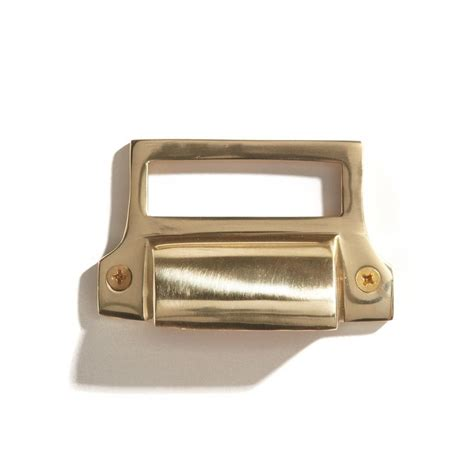 label drawer pulls australia classic brass bin pull with label holder cabinet and