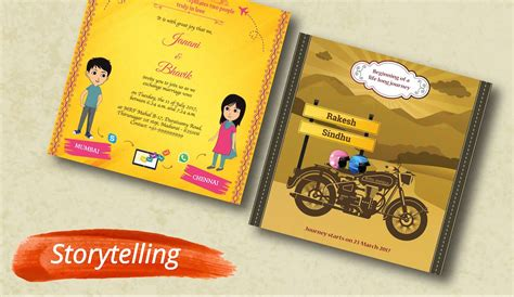 Kards: Creative Indian Wedding Invitations   Caricature