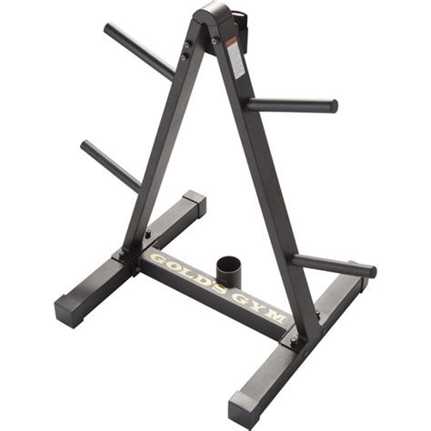 Weight Plate Storage Rack gold s weight plate and barbell storage rack walmart