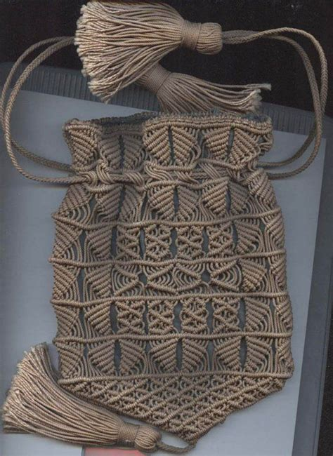 Macrame Bag Pattern - 25 best ideas about macrame bag on macrame
