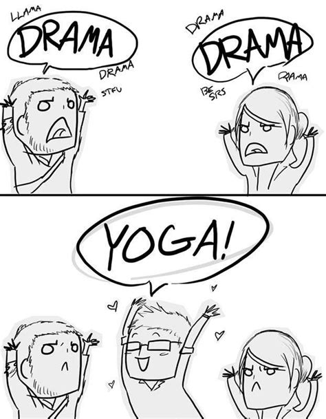 No drama Just yoga! #yoga | Imágenes de yoga, Posturas