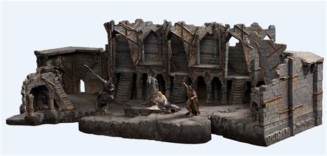 Weta Giveaways - collecting the precious weta workshop s auographed dol guldur 1 30 full set