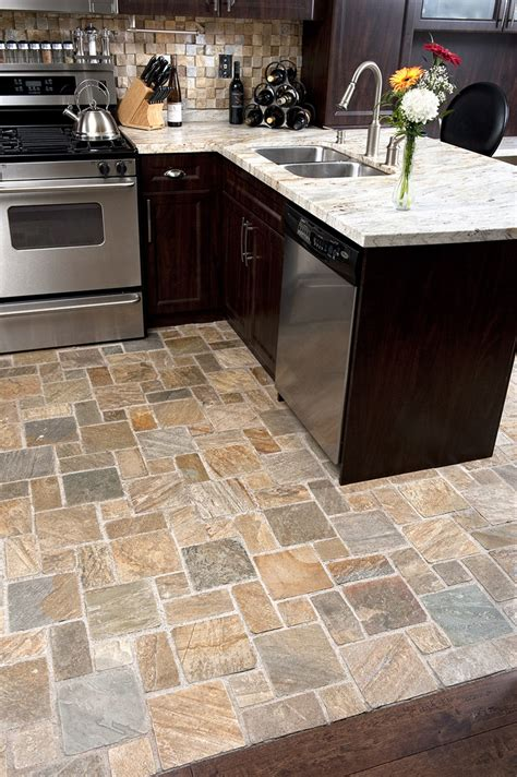 cherry cabinets with light granite countertops slate floors how would this look with green granite and