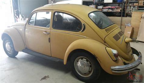 4 Door Volkswagen Beetle For Sale by Volkswagen Beetle 1972 Bug 2 Door 4 Sp Manual
