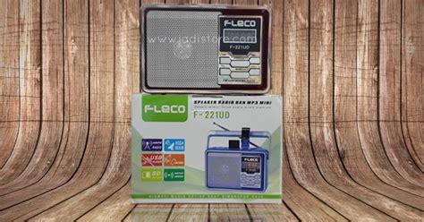 Speaker Fleco F 629 Diskon speaker aktfi radio dan mp3 mini fleco f 221ud