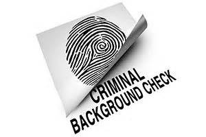 Persons Criminal Record Criminal Record Check For Persons Applying For Employment In The Entities Of The