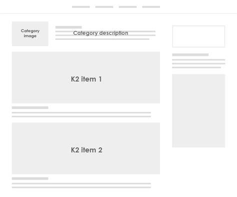 category item layout template k2 k2 configuration ja jason joomla templates and