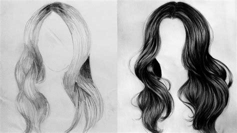 desenho cabelo certo errado como desenhar cabelo corretamente grafite