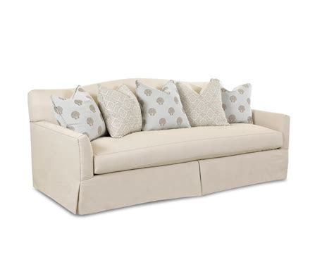 What Is A Settee Sofa Transitional Stationary Sofa With Bench Seat Cushion