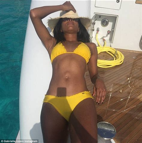 banana boat lebron picture gabrielle union in a bikini to celebrate 4th of july with