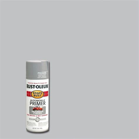 rust oleum stops rust 12 oz clean metal primer spray paint 7780830 the home depot