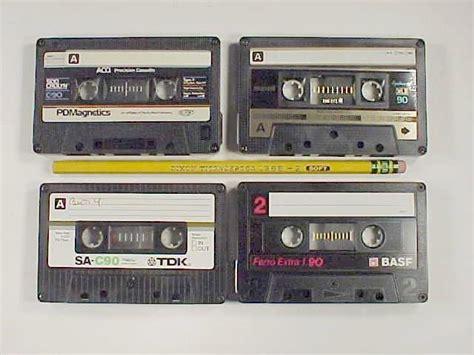 audio cassette audio cassettes
