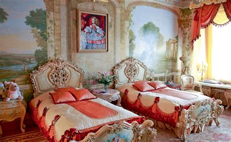 rococo bedroom luxurious rococo style apartment design digsdigs