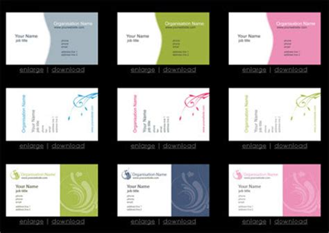 free business card templates for powerpoint powerpoint tips and templates free business card templates