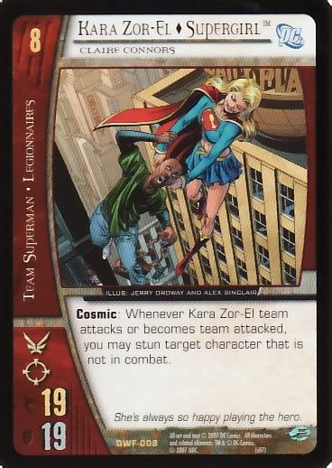 Vs Gift Card - vs system collectible card game supergirl maid of might