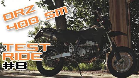 Gutes Motorrad A2 drz 400 sm gutes a2 motorrad testride 8 youtube