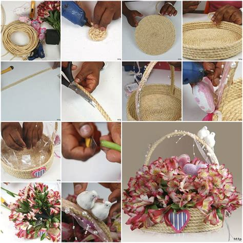 Handmade Home Decor Projects - diy rope craft projects to do at home