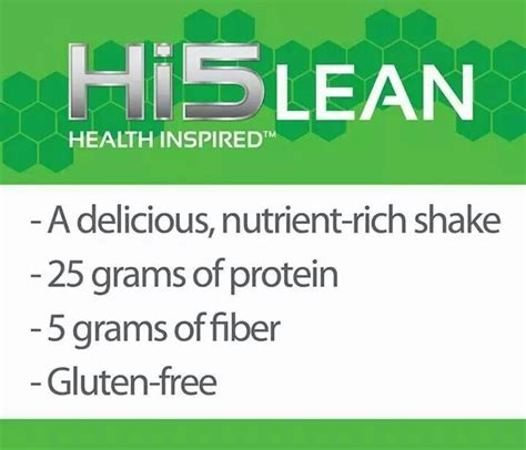 wellness fitness nutrition 13 best images about hi5 edge lean boost on