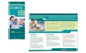brochure publisher templates free service provider brochure template word publisher