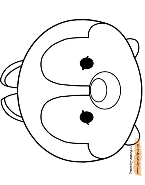 17 Meilleures Images 224 Propos De Tsum Tsum Celebration Sur Biscuit The Coloring Pages
